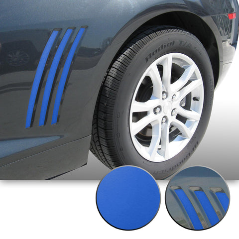 Side Vent Stipe Insert Overlay Vinyl Decal Compatible with and Fits Chevy Camaro 2010-2015