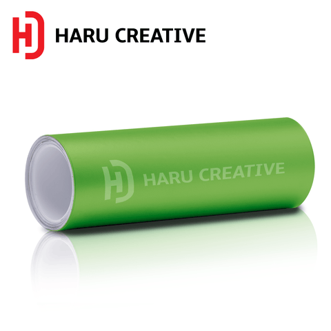 Green Matte Vinyl Wrap - Adhesive Decal Film Sheet Roll - Haru Creative Matte