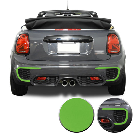 JCW Rear Bumper Bezel Accent 2015-2020