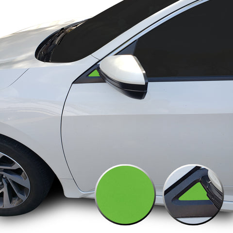 Side Mirrors Accent Overlay Decals Compatible With and Fits Honda Civic 2016-2020