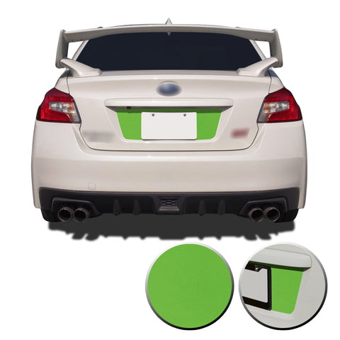Trunk Rear License Trim Decal Overlay Compatible with and Fits Subaru WRX STi 2015-2020