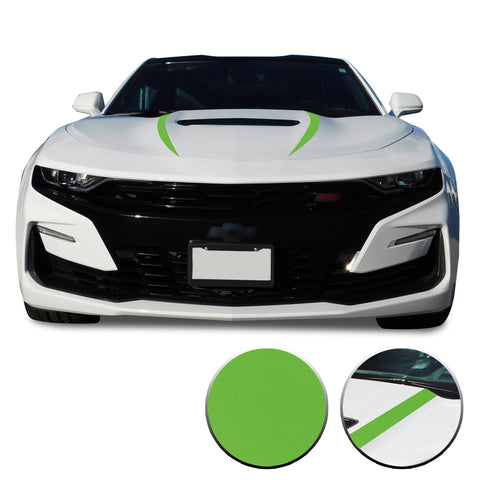 Front Hood Spear Vinyl Wrap Decal Cover Protector Compatible with and fits Camaro 2019-2020