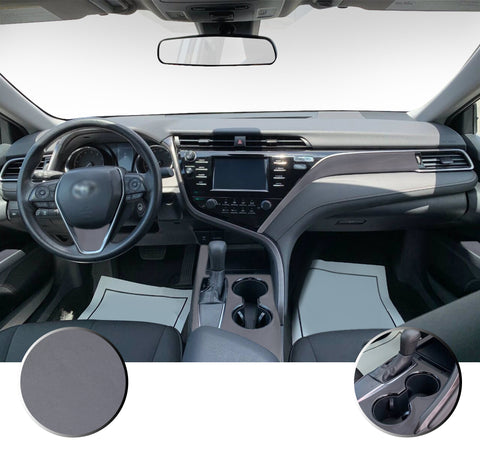 Interior Vinyl Decal Overlay Kit Compatible with Toyota Camry 2018 - 2020