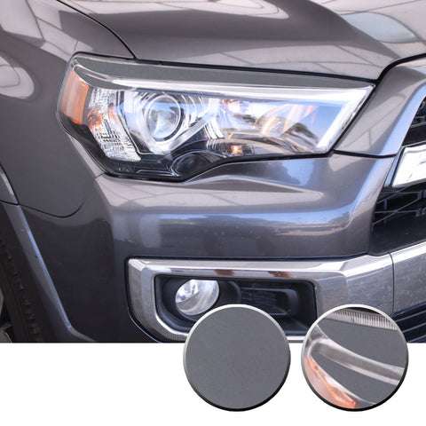 Headlight Eyelid Eyebrow Graphic Vinyl Decal Compatible with Toyota 4Runner 2010-2017