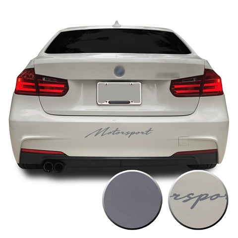 Universal Motorsport Rear Bumper Decal