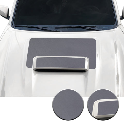 Hood Scoop Vinyl Overlay Decal Wrap Trim Compatible with and Fits Tacoma TRD Sport 2016-2020