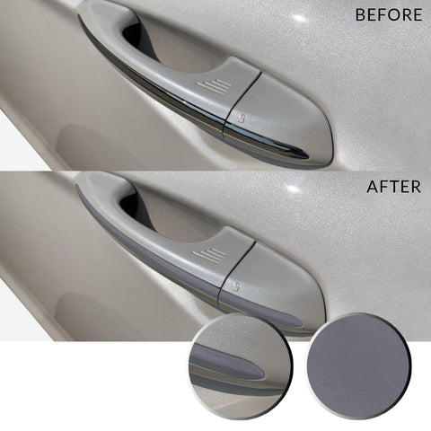 Door Handle Overlay Wrap Vinyl Decal Sticker Compatible with and Fits Ford Fusion 2013-2019