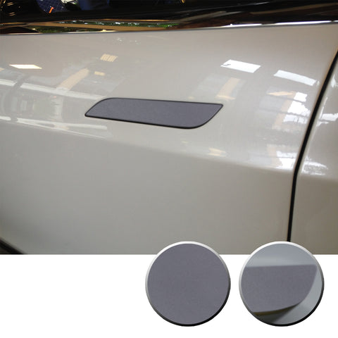 Door Handle Trim Chrome Delete Vinyl Decal Overlay Wrap Compatible with Tesla Model S 2012-2020