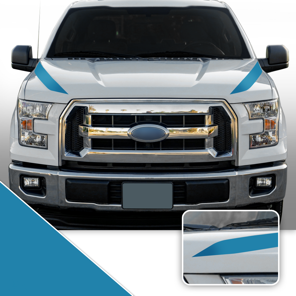 F150 + Raptor Outer Hood Spears 2015-2020