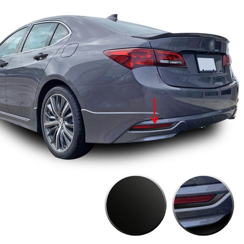 Acura TLX Rear Bumper Reflector Chrome Delete 2015-2017