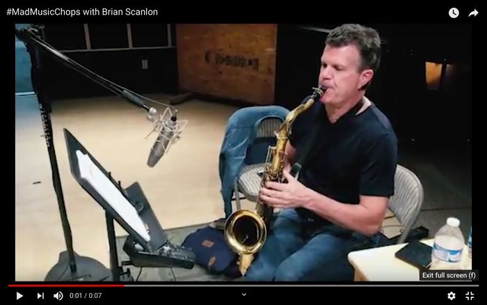 #MadMusicChops with Brian Scanlon