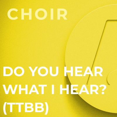 Do You Hear What I Hear? - TTBB (Arr. Harry Simeone)