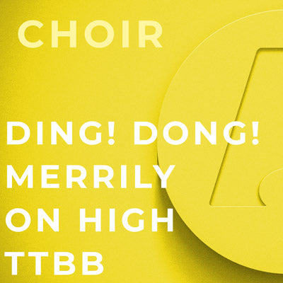 Ding! Dong! Merrilee on High - TTBB (Arr. Howard Helvey)