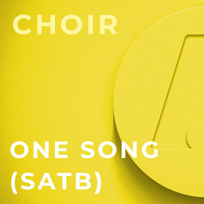 One Song - SATB (Arr. Mark Hayes)