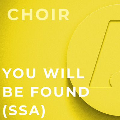 You Will Be Found - SSA (Mac Huff)