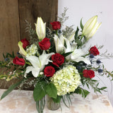 Lavish & Lovely ~ Vase Arrangement