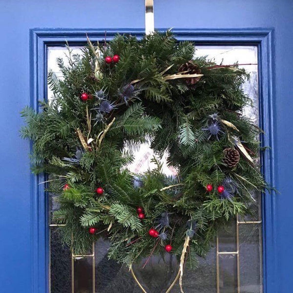 Holiday Wreath Making Workshop ~ made from Scratch