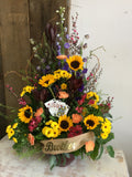 Sympathy arrangements ~ Custom pieces