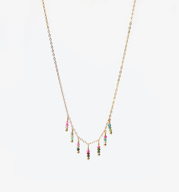 Azul Necklace ~ Tourmaline