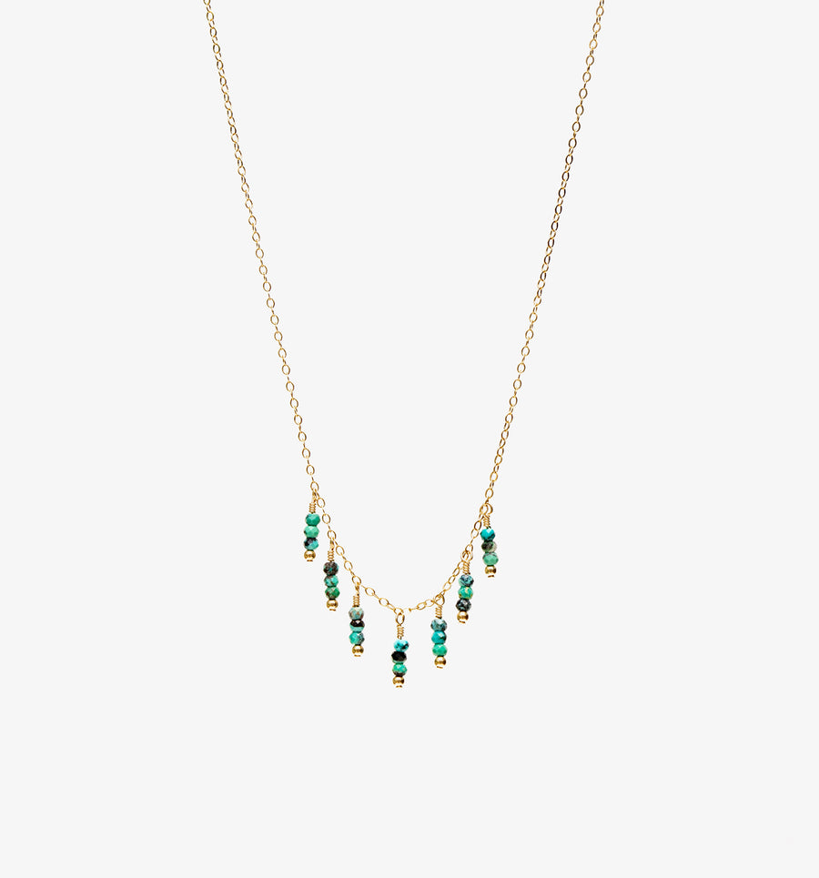 Azul Necklace ~ Turquoise