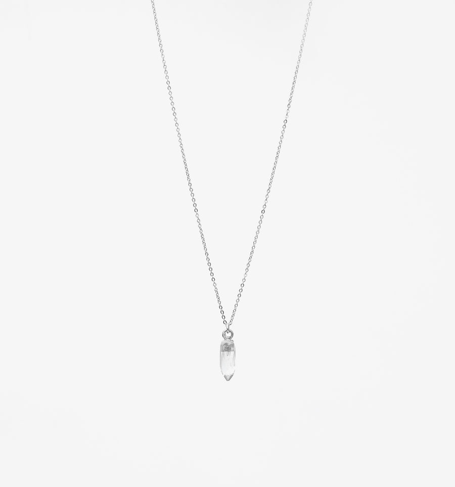 Billie Necklace ~ Crystal Quartz