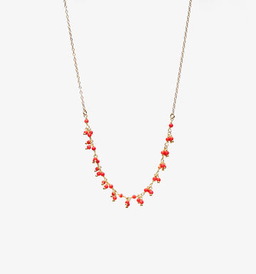 Carmen Necklace ✧ Coral