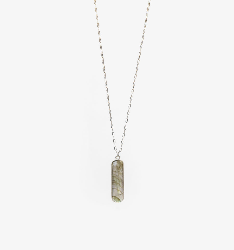Carter Necklace ~ Labradorite