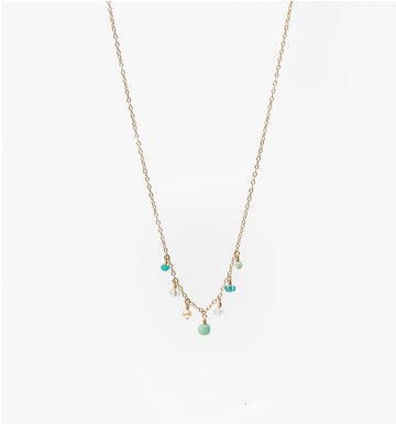 Chantilly Necklace ✧ Aqua