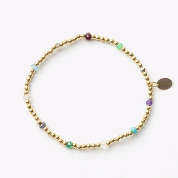 Colour Pop Gem Bead Bracelet