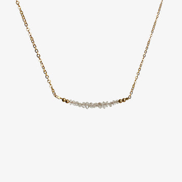 Milla Necklace ~ Herkimer Diamond