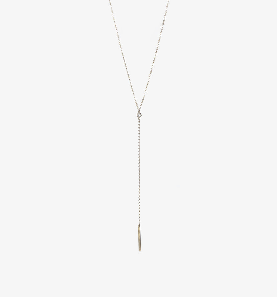 Emaline Lariat Necklace