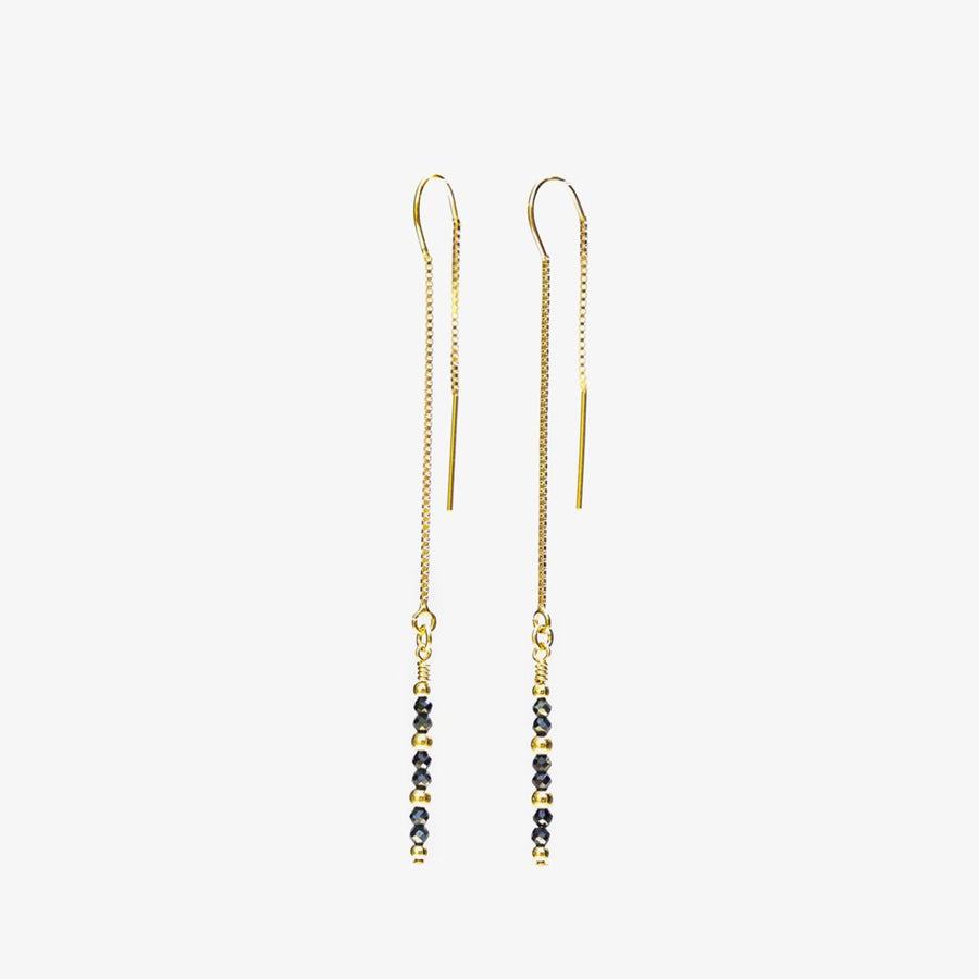 Eevie Thread Earrings ✧ Spinel