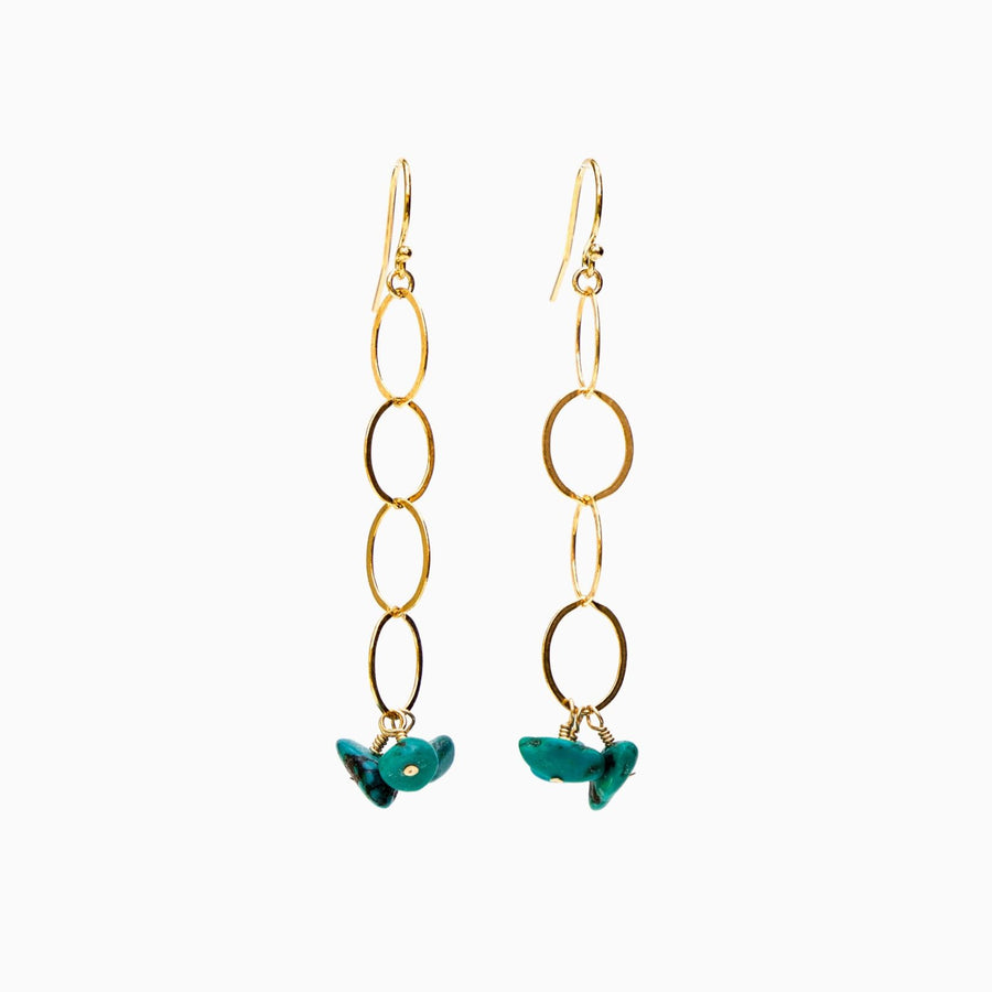 Cancun Earrings ✧ Turquoise