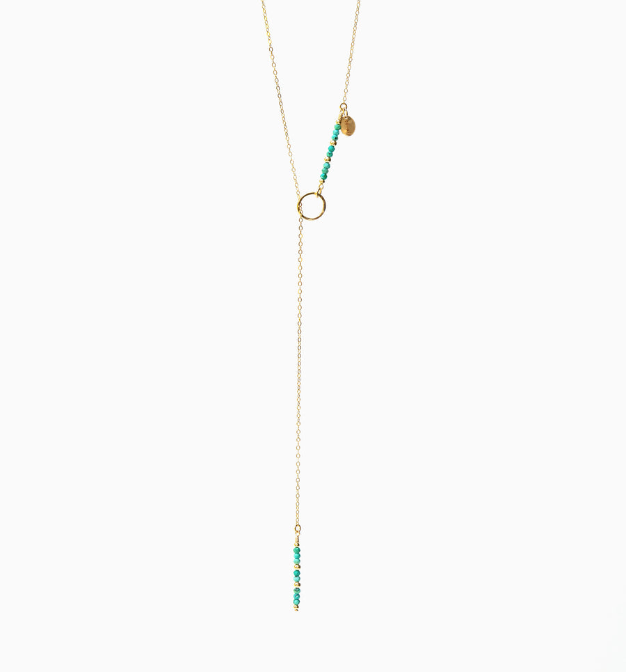 Eevie Necklace ✧ Turquoise
