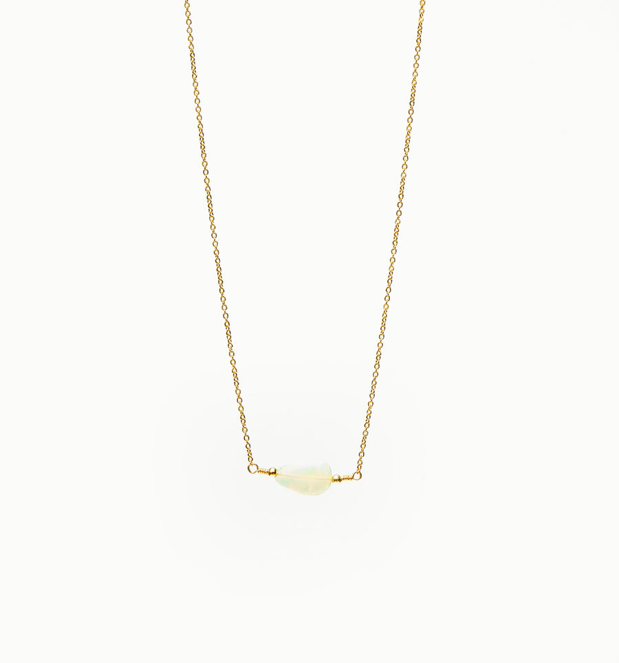 Rocha Necklace ~ Opal