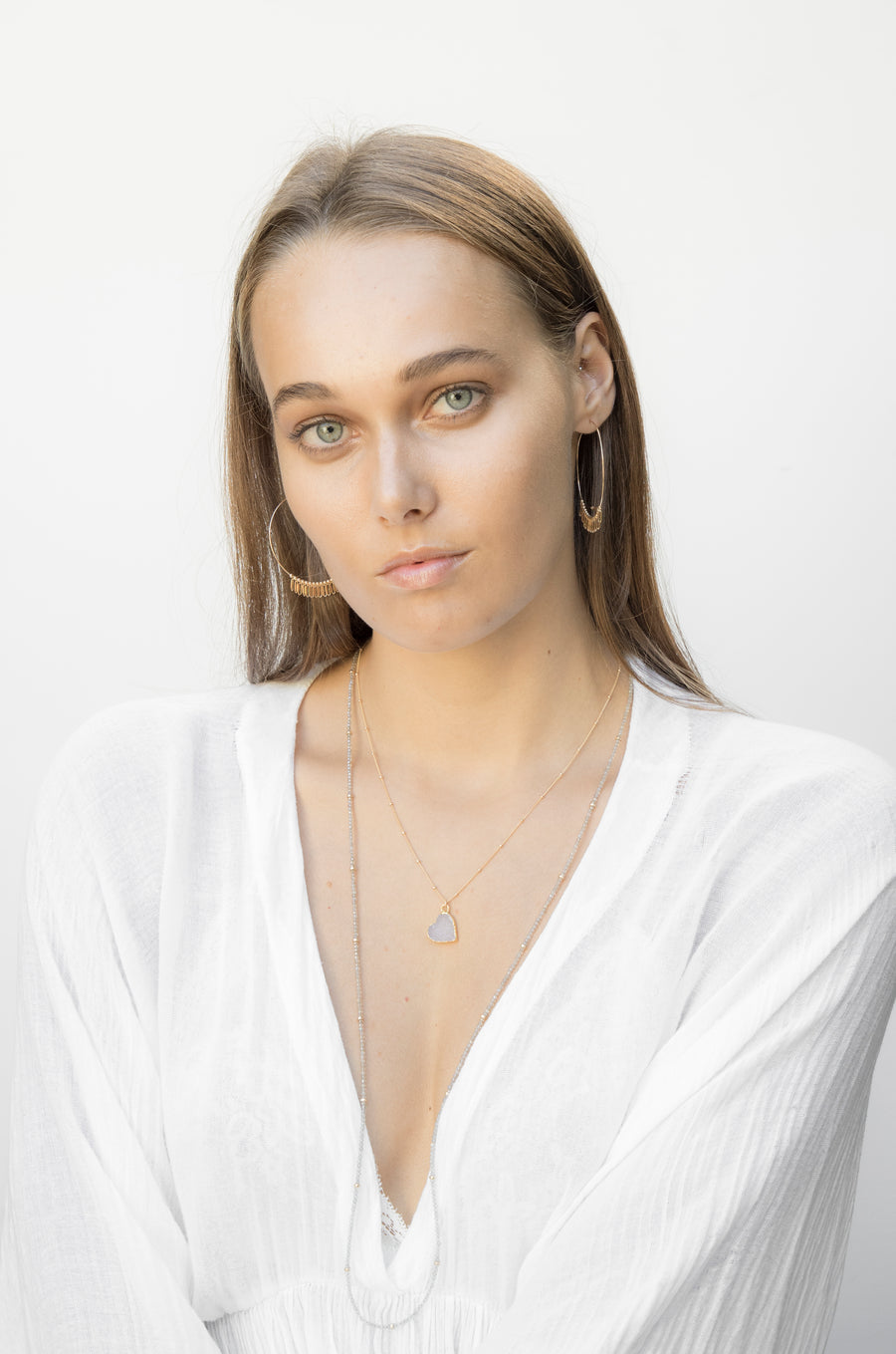 Maxime Necklace ~ Labradorite