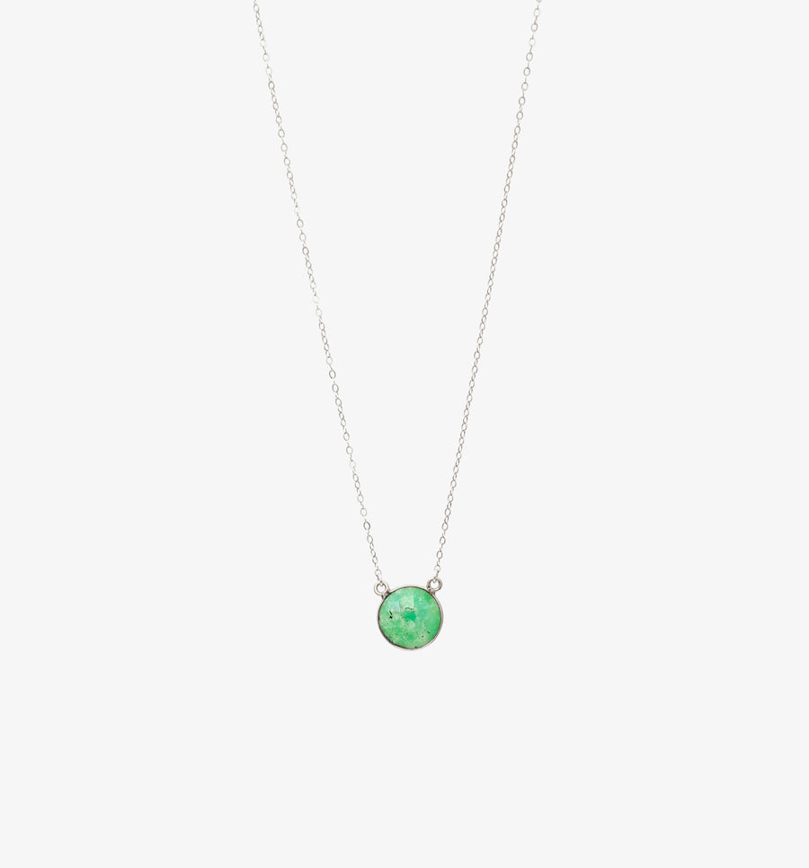 Mika Necklace ✧ Chrysoprase