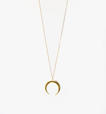 Mona Crescent Necklace
