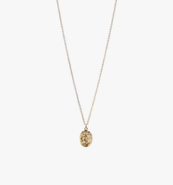 Petite Mary Coin Necklace