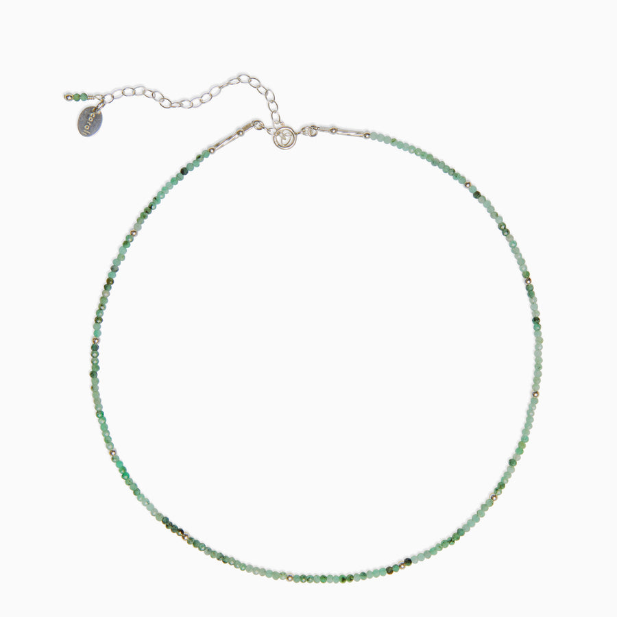 Imelda Choker Necklace ~ Emerald