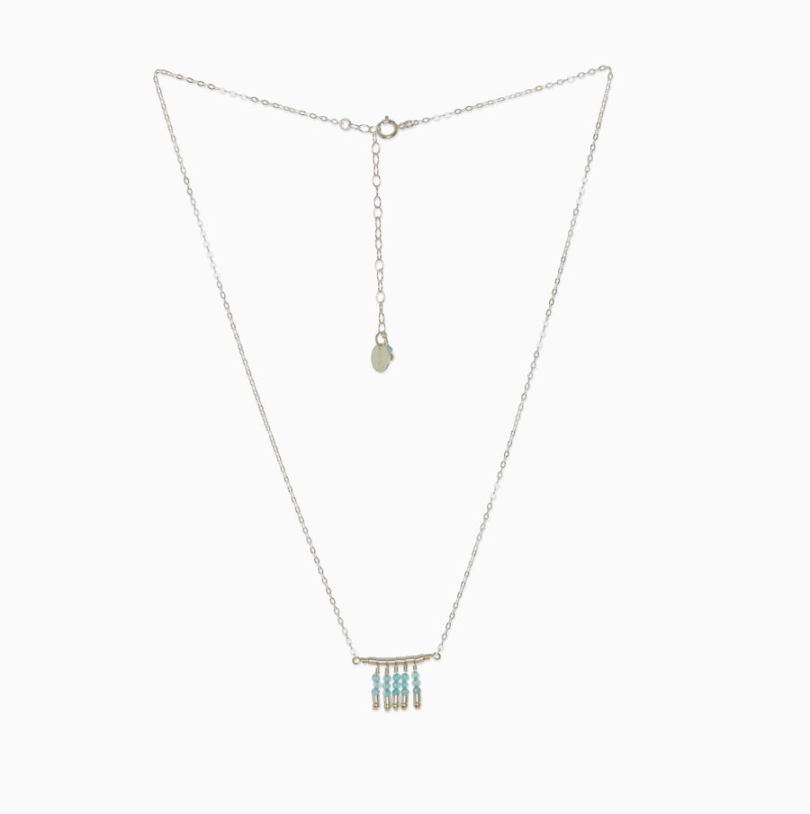 Cleo Necklace ~ Apatite