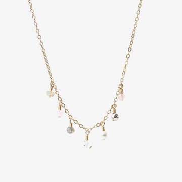 Chantilly Necklace ~ Rose