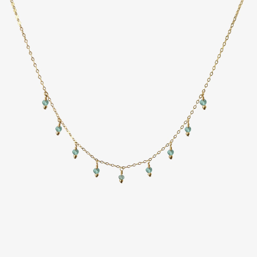 Rain Choker Necklace ~ Apatite