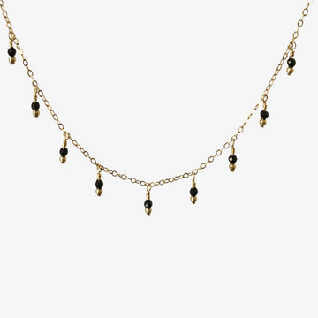 Rain Choker Necklace ~ Spinel