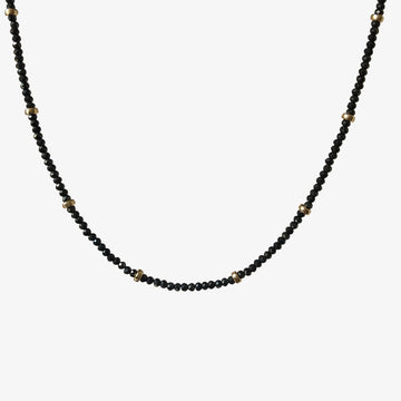Taylor Choker Necklace ~ Black Spinel