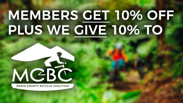 Get 10, Give 10 Program at Sunshine Bikes benefits MCBC