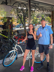 Congratulations to our 2 Good Earth Natural Foods bike giveaway winners!