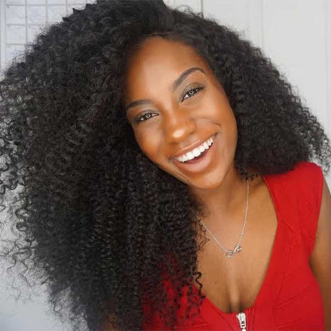 Linda Natural Kinky Curly Wig