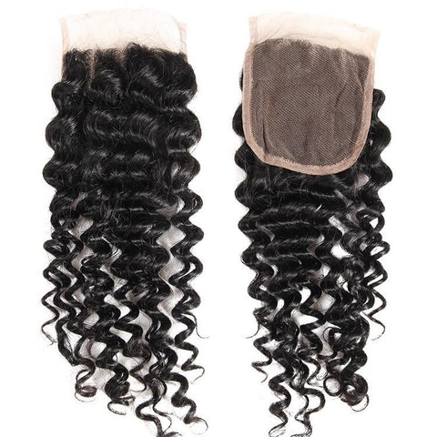 Closure Jerry Curl Lace