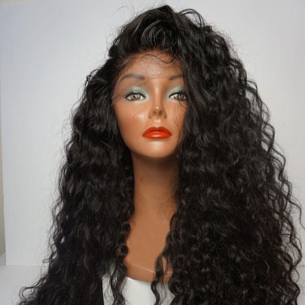 Linda Natural Water Wave Wig